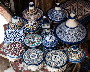 Moroccon handmade pottery