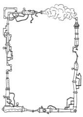 Schmuckrahmen Steampunk2
