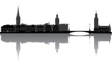 stockholm, skyline