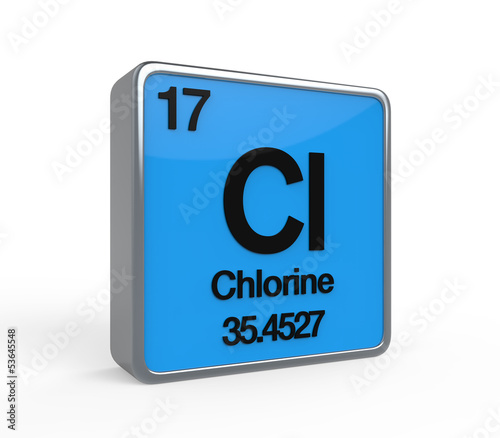 Chlorine Element Periodic Table