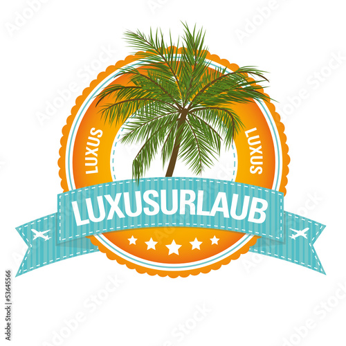 Sommer-Button: Luxusurlaub