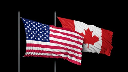 Relationship between USA and Canada