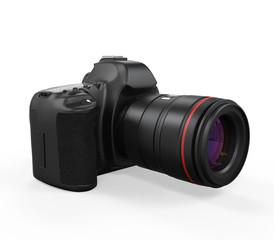 Digital SLR Camera Isolated