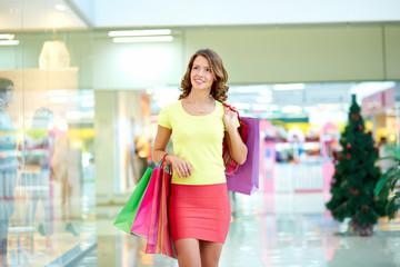 Pleasure of shopping