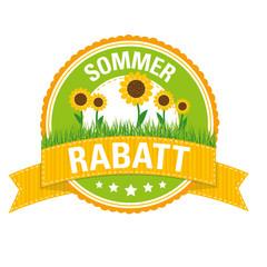 Sommerbutton: RABATT