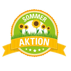 Sommer-Button: Aktion