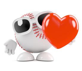 Baseball is in love