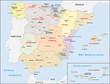 Obrazy na płótnie, fototapety, zdjęcia, fotoobrazy drukowane : Spanien Administrativ