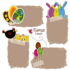 Easter Labels - place your text