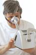 Apnées - Mise en marche de l'appareil  respiratoire