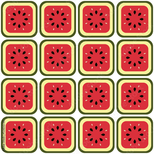 seamless melon pattern