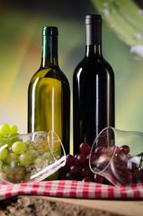 rot und weißwein