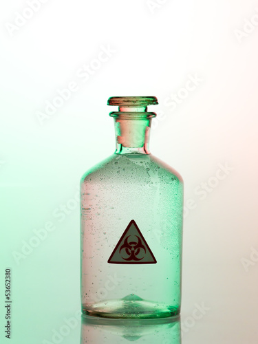 biohazard bottle