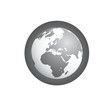 Grey Earth Icon