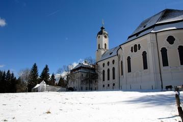雪のヴィース教会
