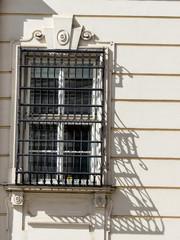Gitter vor einem Fenster