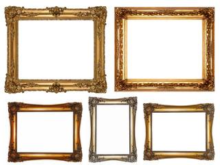 antike Bilderrahmen, Rahmenset, Border, Frame