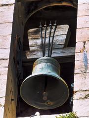 Glocke in einem alten Turm