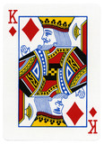 Playing Card - King of Diamonds
