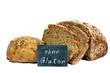 """Brot und Brötchen mit Tafel """"ohne Gluten"""""""