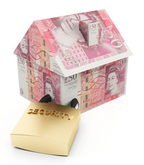 Secure house pounds