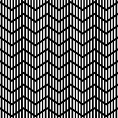 Seamless geometric zigzag pattern. Striped texture.