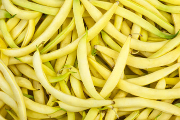 Yellow Wax Snap Beans background