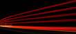 Abstract orange, red and yellow lights in road tunnel - 53660192