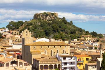 Begur village (Girona, Costa Brava)