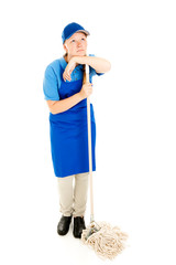 Teen Jobs - Mopping Up