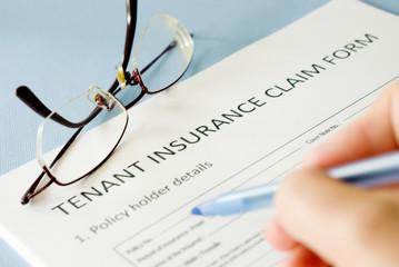 tenant insurance claim form