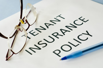 tenant insurance policy