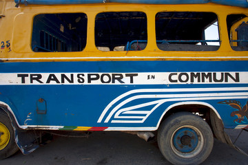 Bus in Senegal