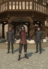 Medieval Town Guards
