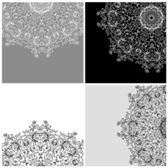 Set of arabesque backgrounds for your design