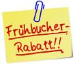 Frühbucher Rabatt Notiz  #130626-svg04