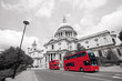 London Routemaster Bus, St Paul's Cathedral