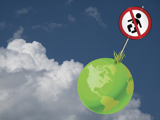 earth to regulate the growing global population