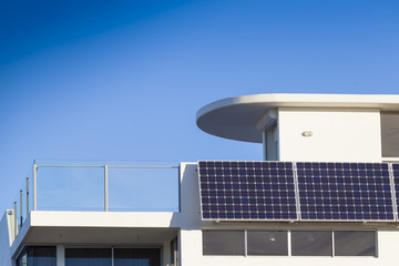 Adjustable solar panels