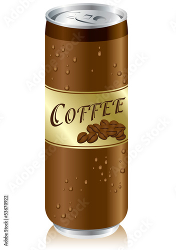 coffee cans Vector