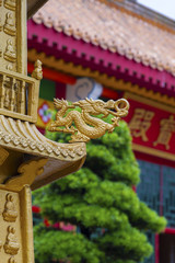 Decoration in Chinese Temple in Hong Kong
