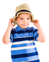 Boy and hat