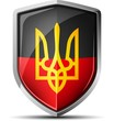 Ukrainian Black&Red Shield