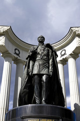 """Monument of """"Alexander II"""", Russia, Moscow."""