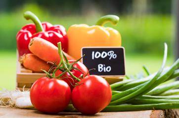 100% Biogemüse