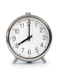 Alarm Clock, showing eight o'clock