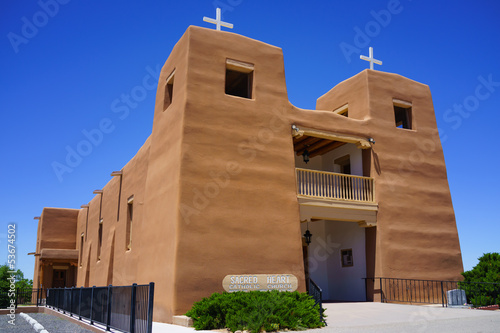 Catholic Church - Nambe Pueblo Sacred Heart Church New Mexico