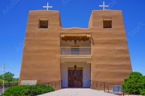 Nambe Pueblo Sacred Heart Catholic Church - New Mexico