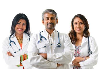 Indian doctors.
