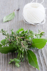 French spice-bouquet Garni.